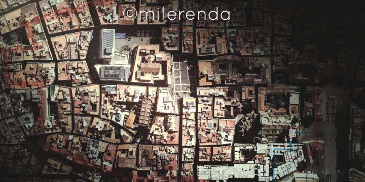 Maqueta del museo de historia de Barcelona